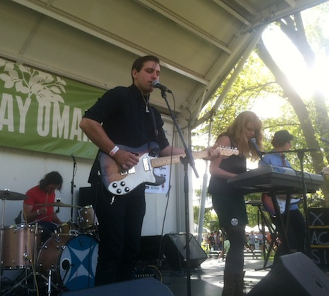 Icky Blossoms at Earth Day in Elmwood Park, April 21, 2012.