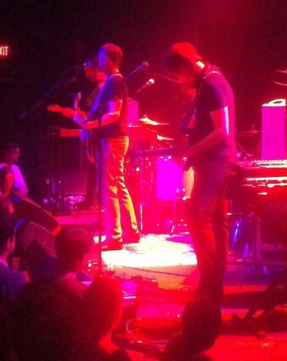 Shearwater opens at The Slowdown, May 14, 2012.